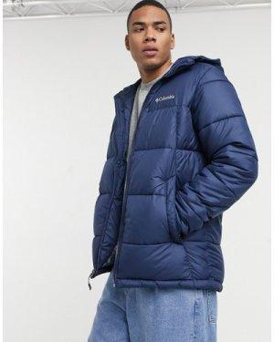 Columbia Pike Lake hooded jacket in navy