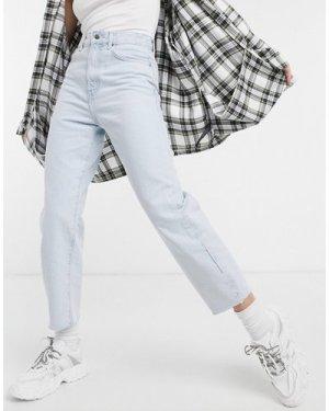 Mango balloon fit jeans in light blue