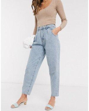 Mango slouchy jeans in light blue
