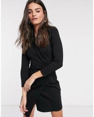 Closet London blazer dress in black