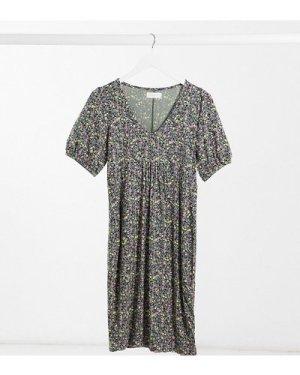 Mamalicious tea dress in floral-Multi