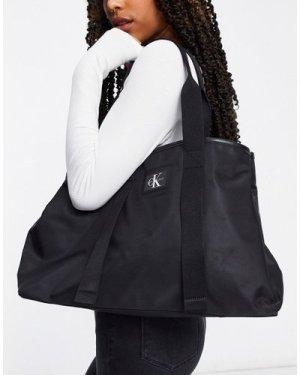Calvin Klein Jeans tote bag shopper in black