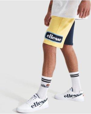 Choppa Oversized Shorts Light Yellow