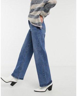 Object wide leg jean in blue