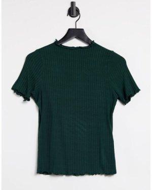 Object Sancha lettuce edge t-shirt in green