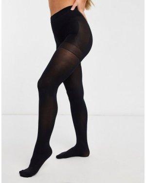 Lindex 60 dernier push up tights in black