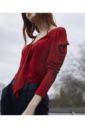 Sara tie blouse