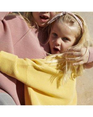 Paisie kids ribbed jumper