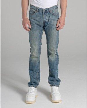 Bellfield Dakota Men's Jeans | Vintage Wash Blue, 36 Inch Waist