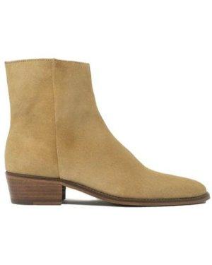Hoxton Zip Up Cuban Heel Boot
