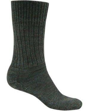 Mens Wool Explorer Sock Parka Green Marl