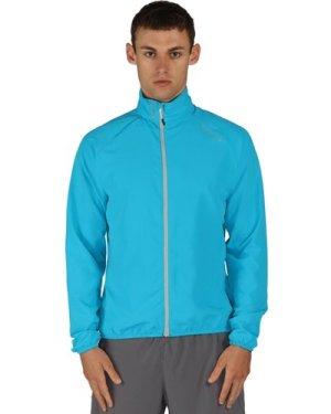 Fired Up Windshell Jacket Fluro Blue