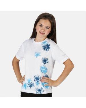 Regatta Kid's Alvardo V Graphic T-Shirt - White
