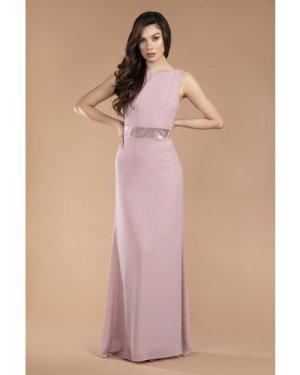 TFNC Halannah Pale Mauve Maxi Dress