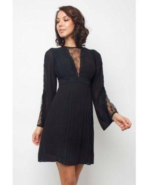 TFNC Pascle Black Mini Dress