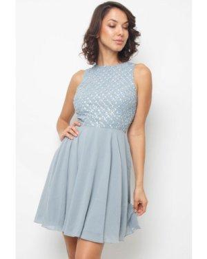 Lace & Beads Junko Light Blue Dress