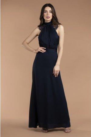 TFNC Kalissa Navy Maxi Dress