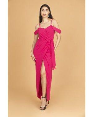 TFNC Suzanne Fuschia Maxi Dress