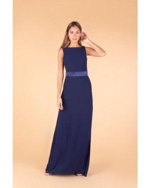TFNC Halannah Navy Maxi Dress