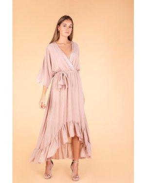 TFNC Danae Mink Maxi Dress