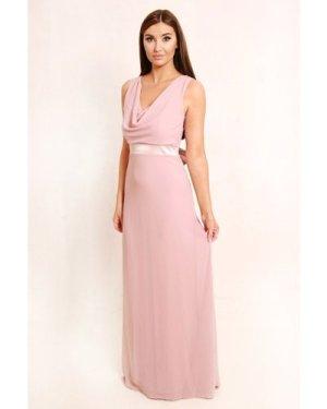 TFNC Vale Pale Mauve Maxi Dress