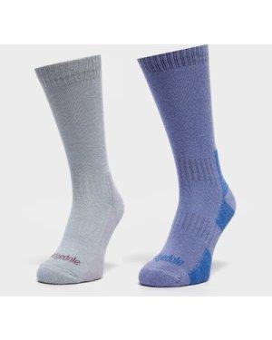 Bridgedale Women's Dingle Sock Multipack, Multi/Blue
