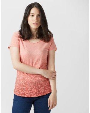 Columbia Women's Ocean Face Short Sleeve T-Shirt, Pink/Pink