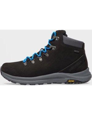 Merrell Men's Ontario Mid Waterproof Walking Boots, Black/BLK