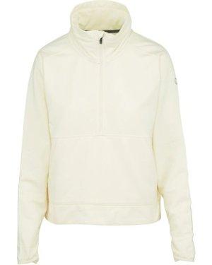 Merrell Women's Timber Quarter-Zip Fleece, White/WHT