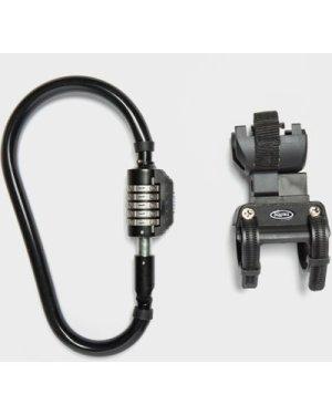 Squire Locks Snaplock 210 Combi Bike Lock, Black/BR