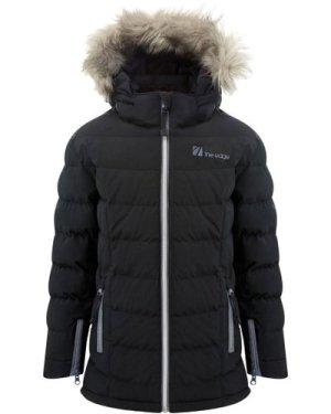 The Edge Kids' Serre Insulated Snow Jacket, Black/Black