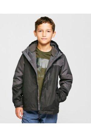 Peter Storm Kids' Lakes 3-in-1 Jacket, Black/BLK