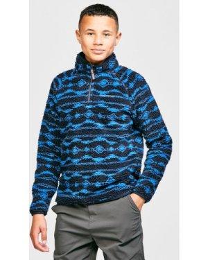 Craghoppers Kids' Shenden Fleece, Blue/Navy