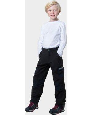 Regatta Boy's Softshell Trousers, Black/BLACK