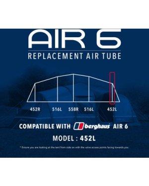Eurohike Air 8 Tent Replacement Air Tube - 534L, Black/452L