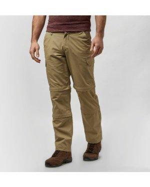 Peter Storm Men's Ramble II Double Zip Off Trousers, Cream/C