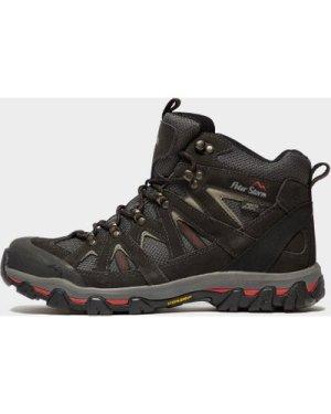 Peter Storm Men's Arnside Mid Walking Boot, Grey/WP