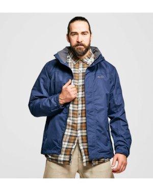 Peter Storm Men's Downpour 2-Layer Jacket, Blue/NVY