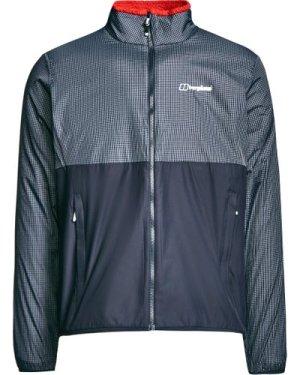 Berghaus Men's Torrak Reversible Softshell Jacket, Grey/Red