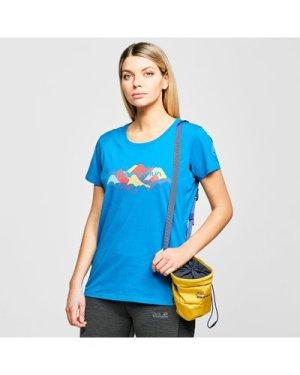 La Sportiva Women's Hills T-Shirt, Blue/Blue