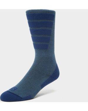 Salomon Socks Women's Comfort Ski Socks - Blue/Blue, Blue/BLUE