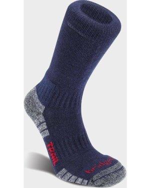 Bridgedale Men's Hike Lightweight Merino Endurance Boot Socks - Navy/Original, NAVY/ORIGINAL