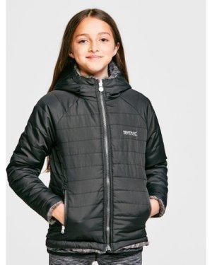 Regatta Kids' Spyra Insulated Jacket - Black/Blk/Leo, Black/BLK/LEO