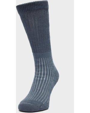 Brasher Women's Hiker Socks - Blue, Blue