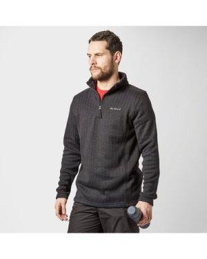 Peter Storm Men's Kendal Half Zip Fleece - Blk/Blk, BLK/BLK