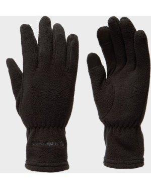 Trekmates Women's Touchscreen Fleece Glove - Black/Blk, Black/BLK