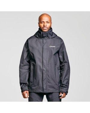 Berghaus Men's Rg Alpha 2.0 Waterproof Jacket - Black/Blk, Black/BLK