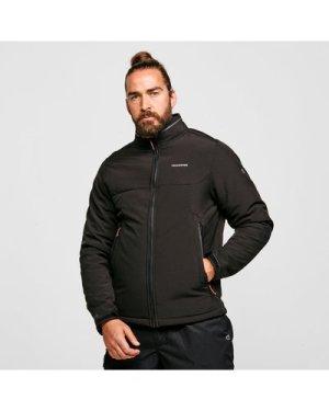 Craghoppers Men's Nerva Softshell Jacket - Black/Blk, Black/BLK