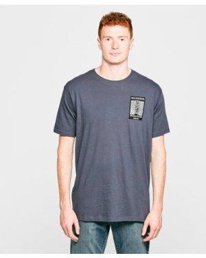 Weird Fish Men's 'Koi Division' T-Shirt - Grey/Nvy, Grey/NVY