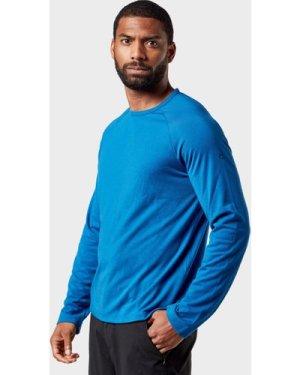 Craghoppers Men's 1St Layer Long Sleeve T-Shirt - Blue, Blue